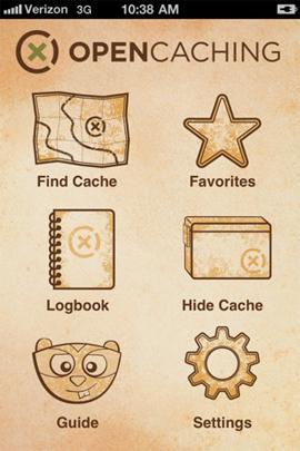 Opencaching App