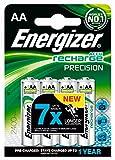 Energizer Precision AA-Batterien (2400 mAh, aufladbar) 4 Stück