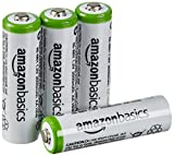 AmazonBasics Vorgeladene Ni-MH-Akkus, AA, Akkubatterien, 2000 mAh, 4 Stck