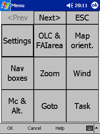 SeeYou Mobile 1.2 - Das Programm - 1