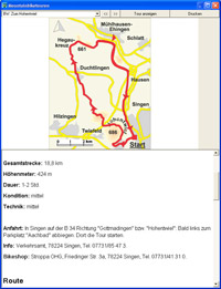 ActionMaps Mountainbike Guide - Vorbereitung - 1