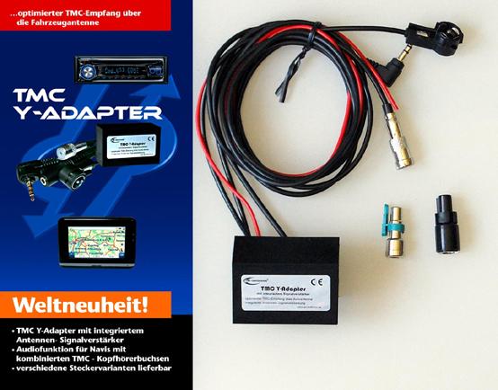 TMC Y-Adapter mit integriertem Signalverstärker - Lieferumfang - 1