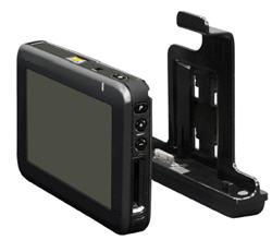 MEDION P4425 mit ActiveCradle und GoPal 4 PE - ...auch hier deutlich schmäler - 1