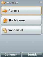 MN7 für Symbian S60 3rd - Zieleingabe - 1