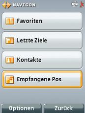MN7 für Symbian S60 3rd - Zieleingabe - 2
