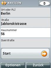 MN7 für Symbian S60 3rd - Zieleingabe - 3