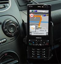 Testbericht der Symbian S60 3rd Edition Version der Navigationssoftware aus dem Hause NAVIGON...