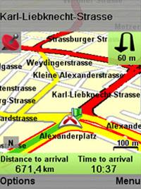Destinator Navigationssoftware auf zukünftigen LG Smartphones und Handys vorinstalliert...