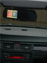 VDO MS5200 mit Rückspiegelmonitor im BMW E93 - Der Rückspiegel, der auch vorne weiss, wo es lang geht... (3706) - 1