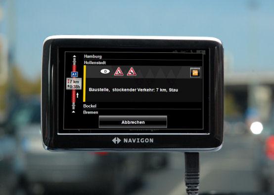 NAVIGON 4310 max - TMC-Empfang - 1