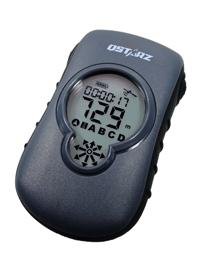 Der GF-Q900 zeigt den Weg zurück zum vorher gespeicherten Standort...