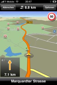 NAVIGON MobileNavigator fürs iPhone - Routing - 1