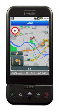 Die Navigationssoftware MobileNavigator von NAVIGON zeigt ab August auch auf Android Smartphones den richtigen Weg...
