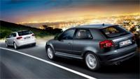 Audi stellt für das Usertreffen 2009 einen Audi A3 mit RNS-E zur Verfügung...