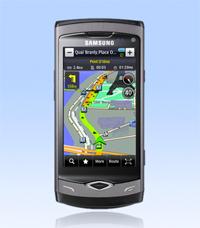 Wer die vorinstallierte Samsung LBS Navi-Software zur Vollversion umwandelt erhält ein Jahr kostenlose Blitzerupdates...