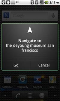 Eine neue Applikation ermöglicht die Steuerung von Android Smartphones durch Sprachbefehle...