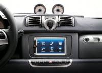 Das neue Navigations- und Mulitmediatalent im Smart kommt von Bosch...