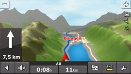 Falk Vision 700 - Navigation - 2