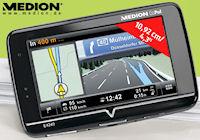 Solides MEDION Navi GoPal E4240 ab Donnerstag im Angebot bei ALDI Süd...