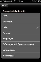 NAVIGON Truck und Camper Navigation fürs iPhone - Beschreibung: - 2