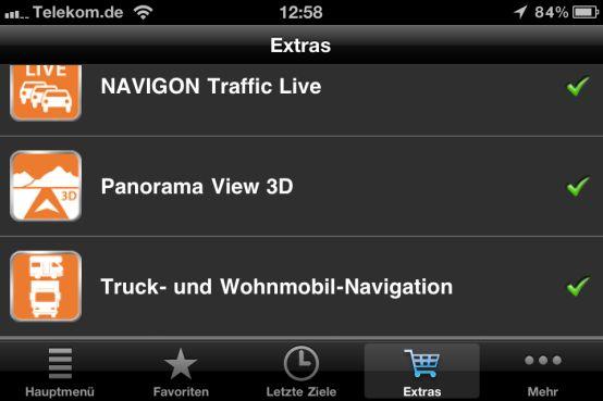 NAVIGON Truck und Camper Navigation fürs iPhone - Einleitung: - 1