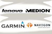 Garmin möchte Navigon übernehmen und Lenovo zielt es auf MEDION ab...