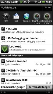 HTC Sensation - Smartphone mit Gefühl - Bedienung II - 1
