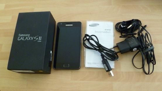 Samsung Galaxy SII – galaktisches Erlebnis - Ausstattung   Zubehör - 1