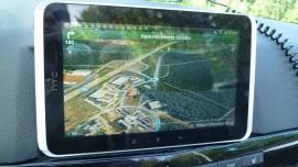 HTC Flyer - Die Rückkehr des Notizbuches - Google Maps Navigation - 2