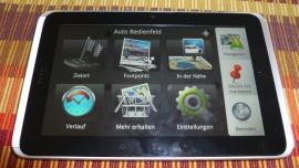 HTC Flyer - Die Rückkehr des Notizbuches - HTC Locations und Premium-Navigationssoftware - 1