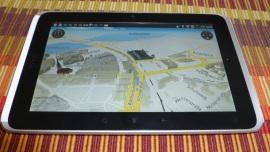 HTC Flyer - Die Rückkehr des Notizbuches - HTC Locations und Premium-Navigationssoftware - 3