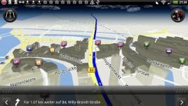 HTC Flyer - Die Rückkehr des Notizbuches - HTC Locations und Premium-Navigationssoftware - 4