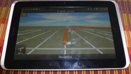 HTC Flyer - Die Rückkehr des Notizbuches - NAVIGON MobileNavigator 3.6 - 1