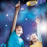 Namen der 27 Galileo Satelliten sollen von europäischen Kindern kommen, die durch einem Malwettbewerb ermittelt werden...
