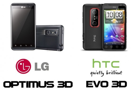 3D-Mania - LG Optimus 3D vs. HTC Evo 3D - Einleitung - 1