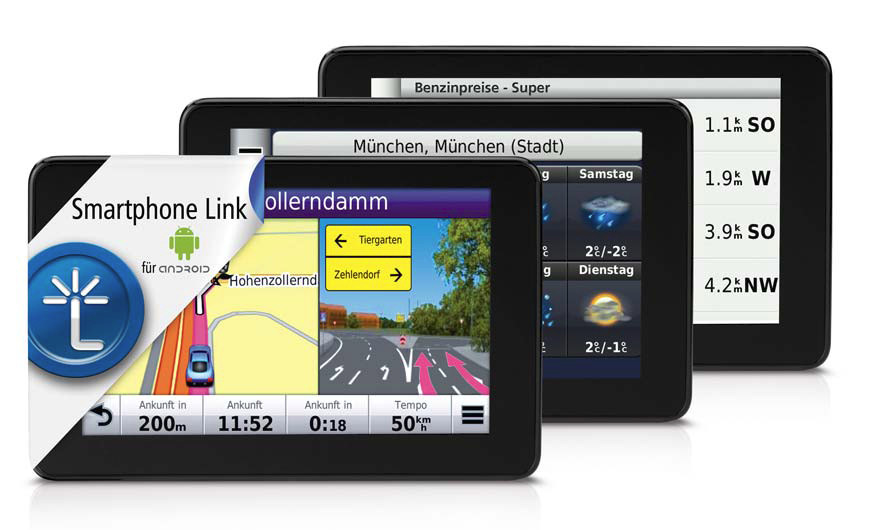 neue app von garmin smartphone link f r android navigation gps. Black Bedroom Furniture Sets. Home Design Ideas