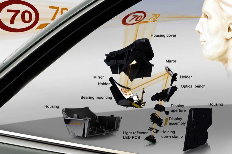 head up display der 2 generation von continental f r den. Black Bedroom Furniture Sets. Home Design Ideas