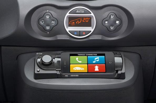 Renault stattet den neuen Twingo mit iPhone System aus ...