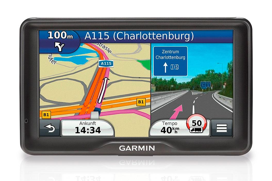 dezl 760lmt neues lkw navi von garmin mit riesigem display navigation