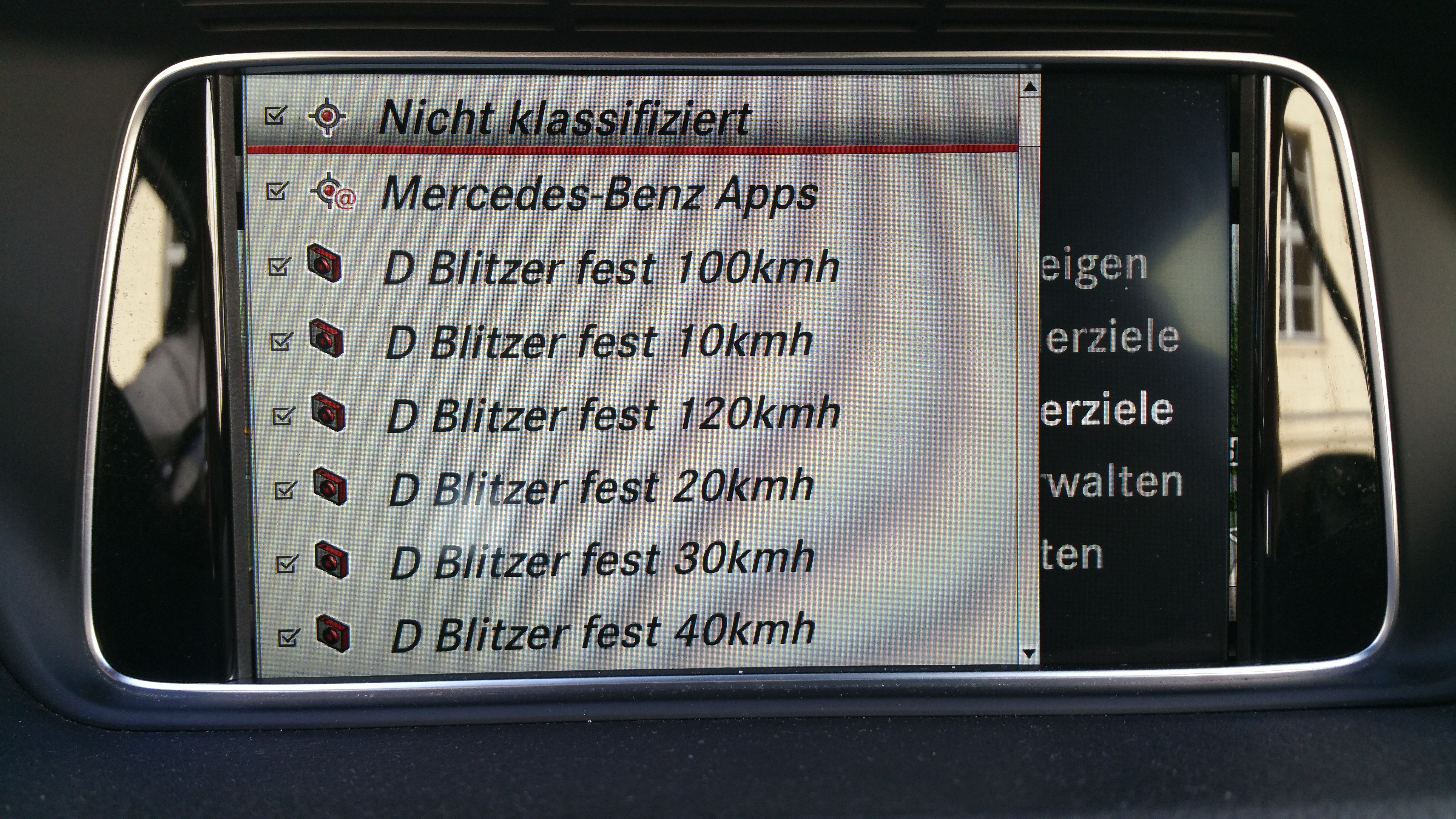 Navigation For Mercedes Gle