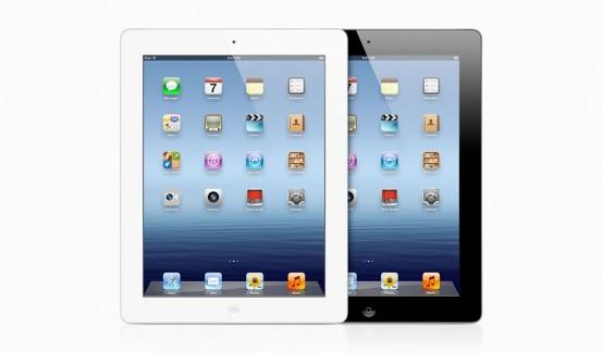 iPad 3 weiß und schwarz