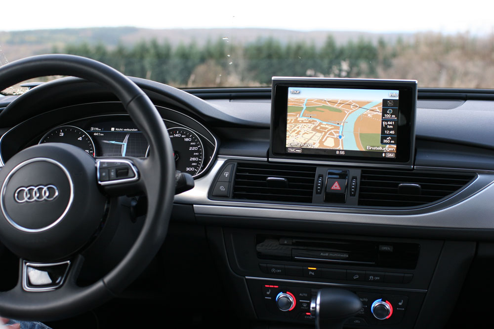 video zum mmi navigation plus im audi a6 allroad quattro navigation. Black Bedroom Furniture Sets. Home Design Ideas