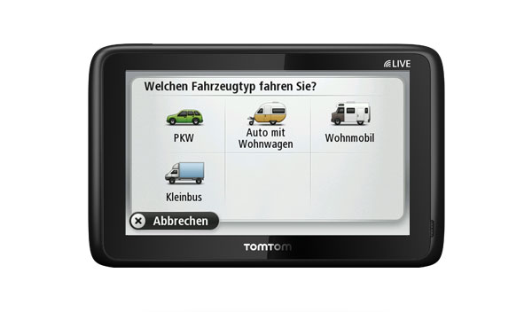 tomtom go live camper caravan im vergleich. Black Bedroom Furniture Sets. Home Design Ideas