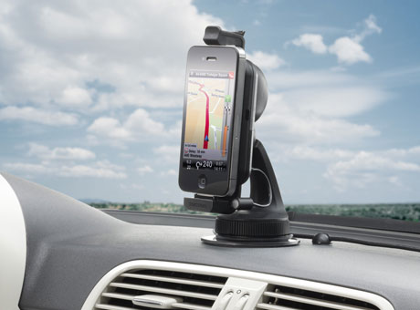 Test tomtom car kit f r smartphones for Manos libres oficina