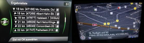 Blitzer Volvo Sensus RTI