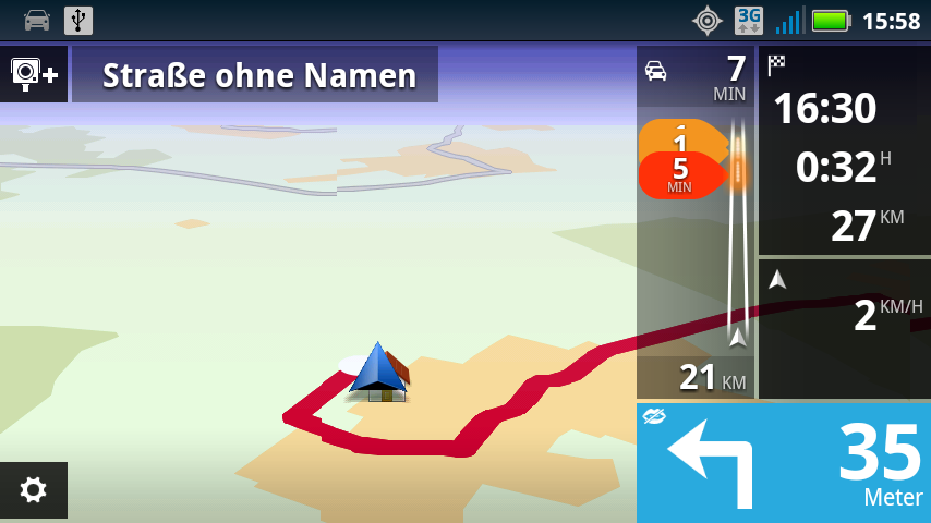 tomtom f r android im test seite 3 navigation gps blitzer pois. Black Bedroom Furniture Sets. Home Design Ideas