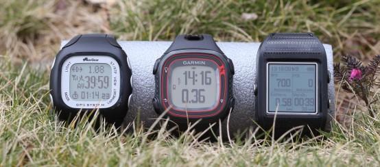 GPS Uhren im Vergleich
