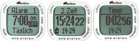 NavGear Screens