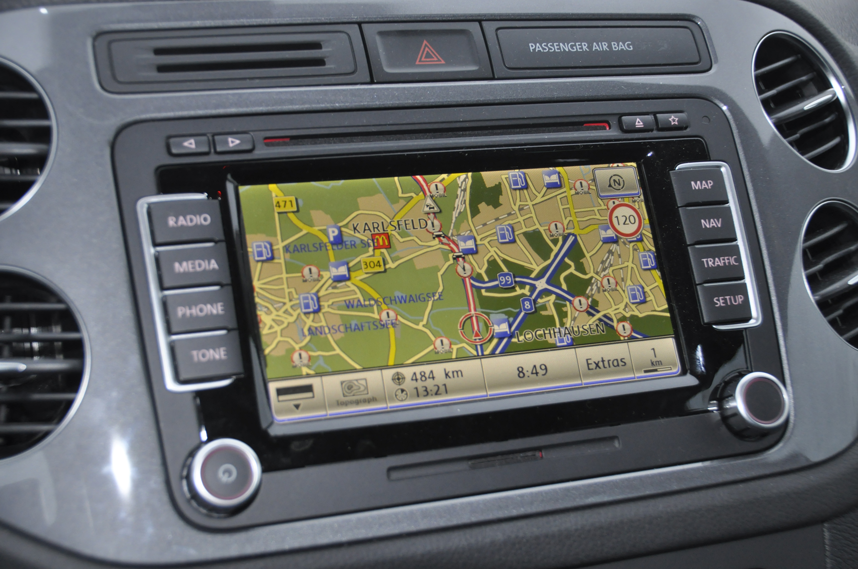 vw rns 510 navigation gps. Black Bedroom Furniture Sets. Home Design Ideas