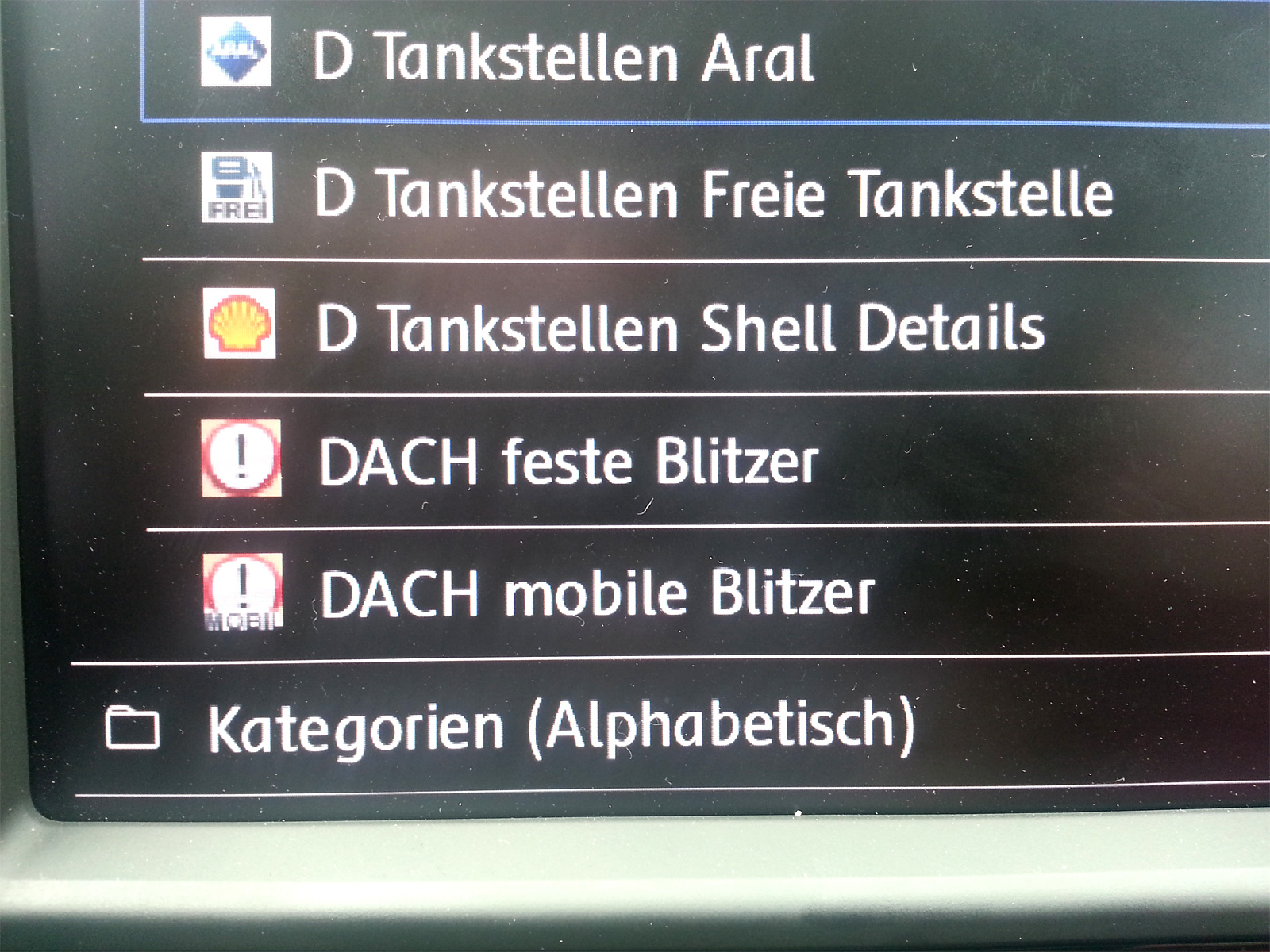 VW Discover Pro Generation 1 / 2 › pocketnavigation de